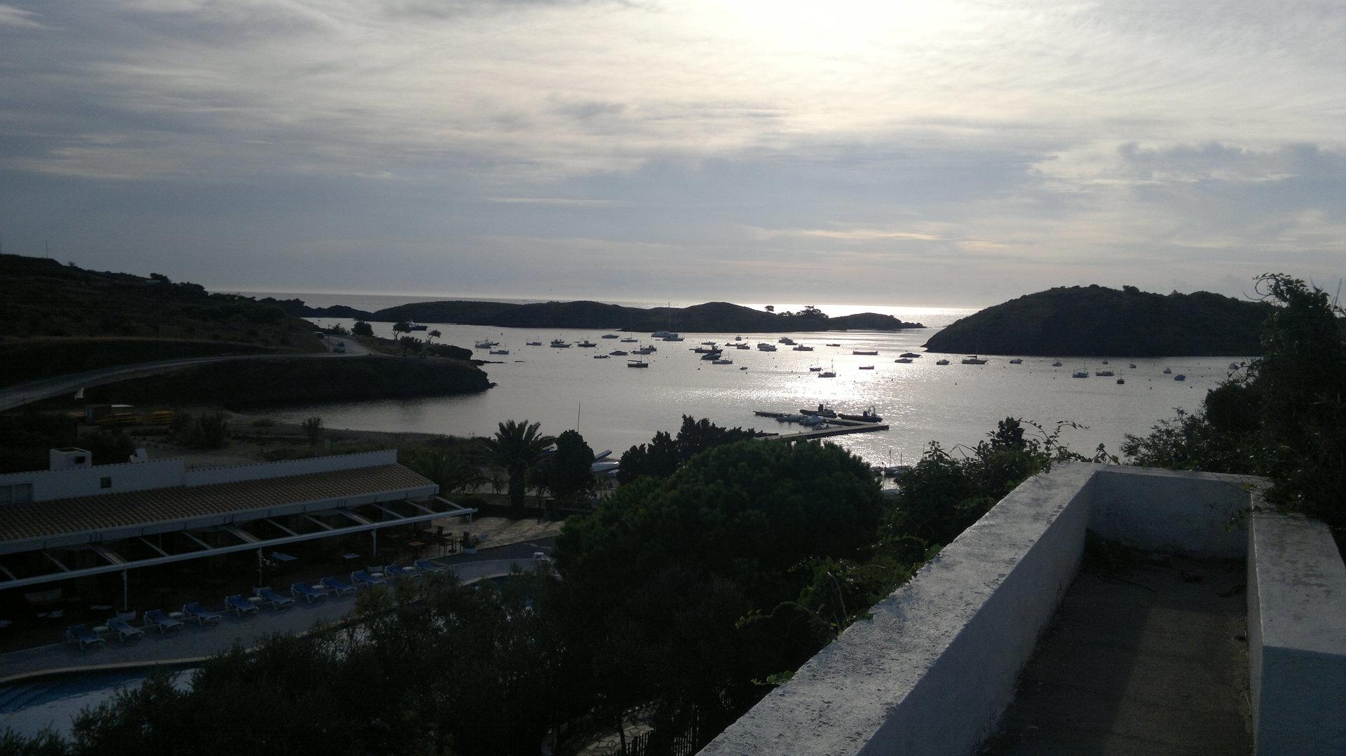 Vistas del hotel de Cadaqués