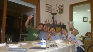 Los amigos se escogen, y por eso tengo los mejores. Pero la familia es como la loteria y a mi, me toco el gordo!