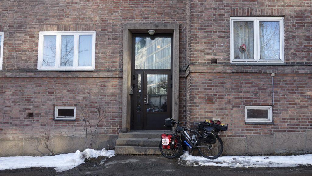 cicloturismo puerta casa